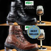 sepatu boots safety | casual pria | kulit | crocodile 01