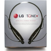 LG Tone Plus Bluetooth Headset - Black - HBS-730