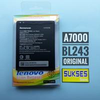 batre a7000 / battery a7000 / baterai lenovo a7000 bl243 original 100%