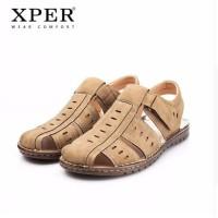 Harga original xper men sandals shoes fretwork fisherman sandal pria   antitipu.com