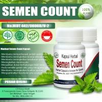 Obat Herbal Kesuburan Pria Menambah Jumlah Sperma | Semen Count ASLI