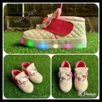 Super Promo! Ima Sepatu Anak Perempuan Led Boots Karakter 1