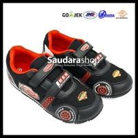 New Produk! Sepatu Cars / Sepatu Sekolah Cars Hitam 26-35 Velcro /