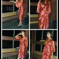Promo! Kaftan Ikat Batik/Dress/Maxi Dress