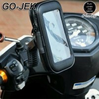 Holder Handphone Sepeda Motor Anti Air Mount Holder HP 6