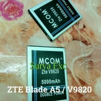 Baterai Zte Blade A5 / HP Bold V / V9820 / Nokia 986 Double Power IC