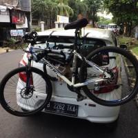 bagasi rak gantungan 3 sepeda untuk mobil bike carrier