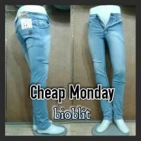 celana jeans cheap monday bioblit pria murah