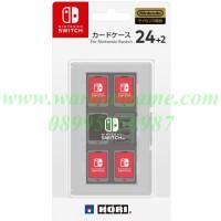 HORI Card Case 24 + 2 for Nintendo Switch (White Transparent)
