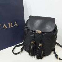 Tas Wanita Original Zara 256 Black Ransel BEST SELLER