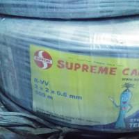 Kabel Telpon SUPREME ITC 2 Pair 2x2x0 6 atau Isi 4 Roll 500m SUPER Q