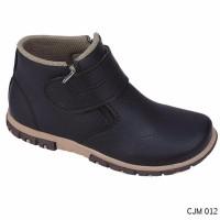 jual Sepatu Boot Anak Laki Terbaru hitam