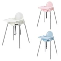 IKEA ANTILOP High Chair, Kursi makan anak dengan baki, Putih