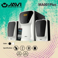 Speaker JAVI MK 001 PLUS 2.1 Surround Sound 3D With Bluetooh,USB,Radio