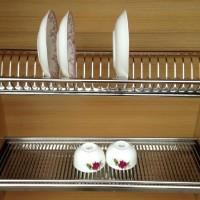 Huben Rak Piring / Dish Rack Stainless Steel 80cm