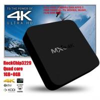 MXQ-4K Quad Core Android 7.1 Nougat TV Box 4K HD WIFI - FULL KODI