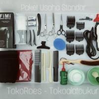 Paket Usaha alat - alat Pangkas Rambut Barbershop PAKET STANDAR cukur