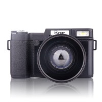 Bcare Mirrorless Camera 24 MP Full FHD 1080P Video 3 inch LCD Anti UV