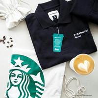 Starbucks Indonesia Polo Shirt Black 2018