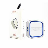 Adapter Charger /Kepala Charger 2 USB Port Vidvie PLM302 S