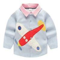 Baju Atasan anak laki-laki, Kemeja Anak laki laki import
