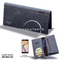 Dompet Pria HM-022-3 / Dompet Cowok Kartu ATM Panjang Lipat Import