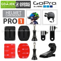 Helmet Chin Mount PRO1 Helm Bike Motovlog for GoPro Xiaomi Yi BRICA