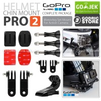 Helmet Chin Mount PRO2 Helm Bike Motovlog for GoPro Xiaomi Yi BRICA