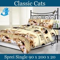 Tommony Sprei Single 90 - Classic Cats