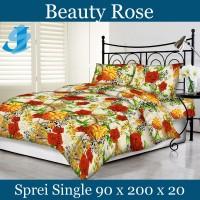 Tommony Sprei Single 90 x 200 - Beauty Rose