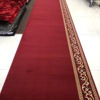 Karpet Masjid Roll Tampak Mewah Warna Merah Polos - Persian Mosque
