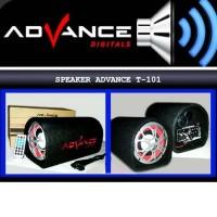Dijual Speaker Advance Subwoofer Bluetooth T101Bt 5 Inci Diskon