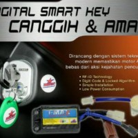 Dijual Alarm Motor Honda Beat Pop Fi Injection I-Max Digital Smart Key