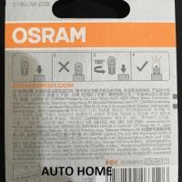 New! Osram Led T10 W5W Putih Lampu Senja, Kota, Plat Nomor, Plafon,