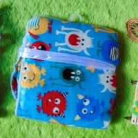 Harga kado bayi baby gift selimut carter double fleece bayi motif monster | WIKIPRICE INDONESIA