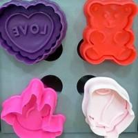 Valentine Embosser Cookie Cutter