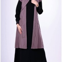 Baju casual wanita/Busana Muslim WanitaGarsel IMS 0581 COKLAT
