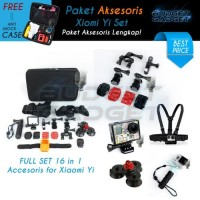 Paket Aksesoris Lengkap 1 for Xiaomi Yi   GoPro Camera by TMC Tactical