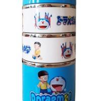[DORAEMON] Rantang Jinjing Putar Karakter 3 Susun / Lunch Box Bekal
