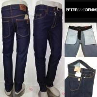 Celana jeans PSD Slimfit pensil biru dongker laki laki pria cowo