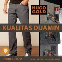 PREMIUM NEW BESTSELLER Celana Jeans Pria Import Hugo Gold Premium Or