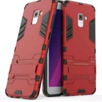 Anti Gores Pelindung Hp Case Ironman Samsung A5 2018 Hybrid With Kick