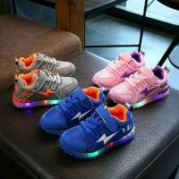 Sepatu Anak Thunder Import Murah Lampu LED