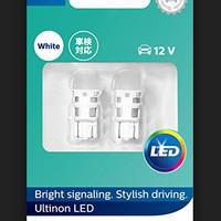 Bohlam Tancep, Tancap LED Philips T10 12V White - 71376 - 11961ULWX2