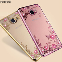 Sarung TPU FLOWER Samsung S9 - S9 Plus soft case casing hp back cover
