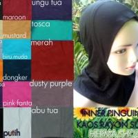 MODEL BARU Ciput Ninja Inner Hijab Dalaman Jilbab Bahan Kaos Super
