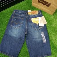 Celana Levis 501 pendek Celana jeans pria pendek