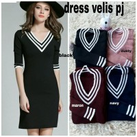BAJU DRESS WANITA IMPORT OBRAL RAJUT STRETCH VAR COLOR TERBARU FG