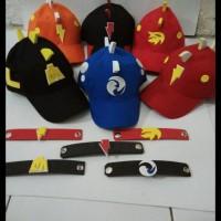 Super Promo! Topi Boboiboy Halilintar Merah 3
