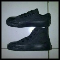Best Seller! Supplier Sepatu Converse Anak Paling Murah Full Black 4